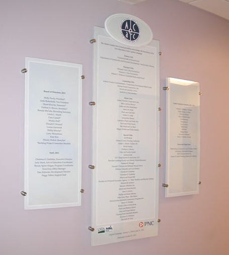 donor wall