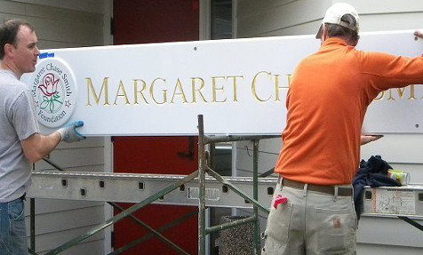 Margaret Chase Smith installation