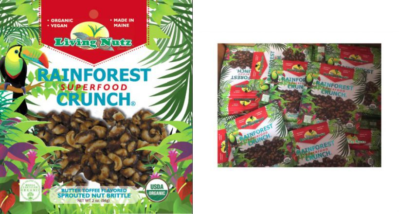 Rainforest Crunch Bag Design