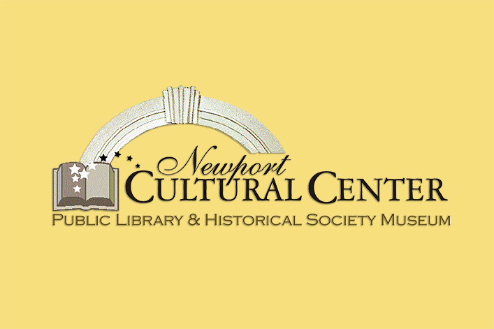 logo for Newport Cultural Center, Newport, ME