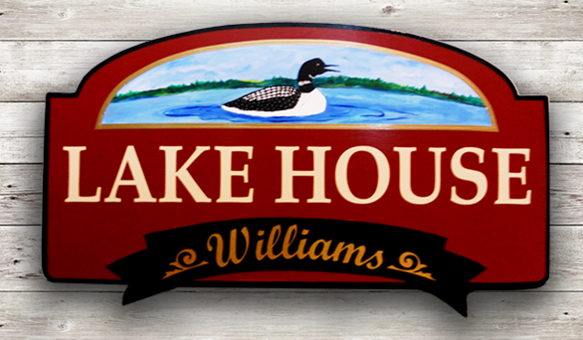 Personalized house and camp signs make great gifts.....
