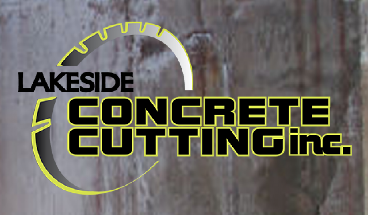 Lakeside Concrete Cutting Logo