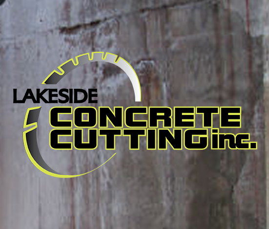 Logo created for Lakeside Concrete Cutting Inc.