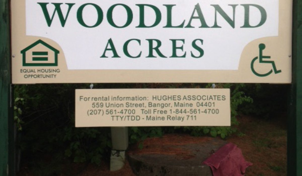 Woodland Acres New Sign