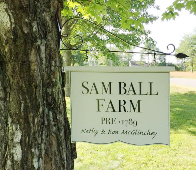 Sam Ball Farm Sign
