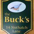 nuthatch lane camp sign