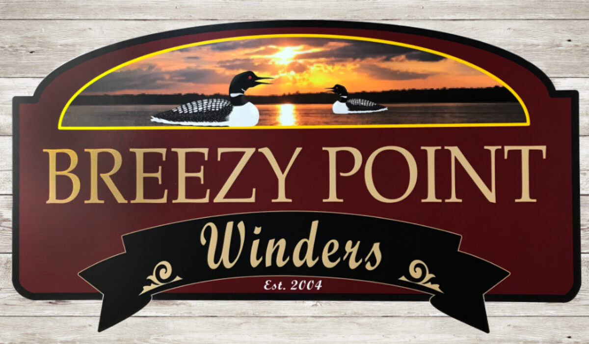 Breezy Point sign